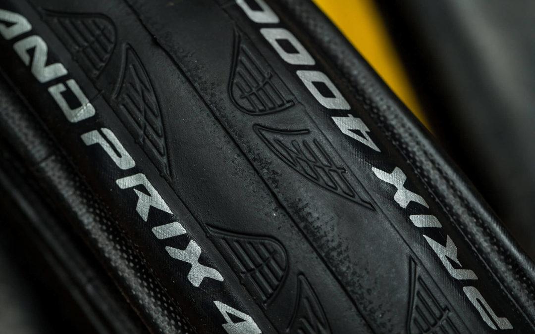 Installing a Bike Tire